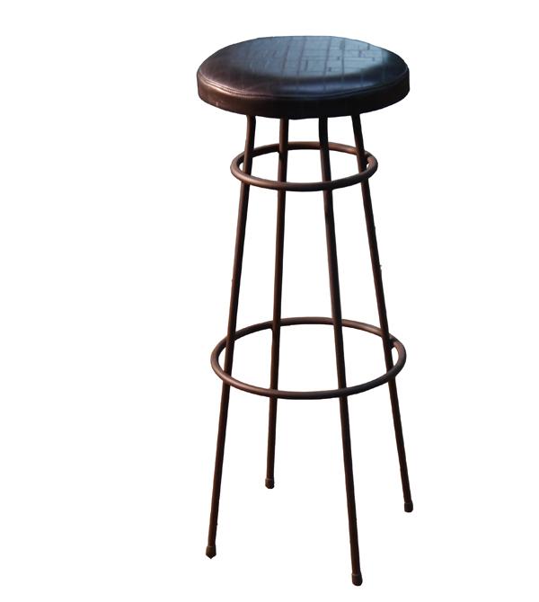 Bancos vintage muebles de acero corten mesas y sillas de for Modelos de tapizados para sillas