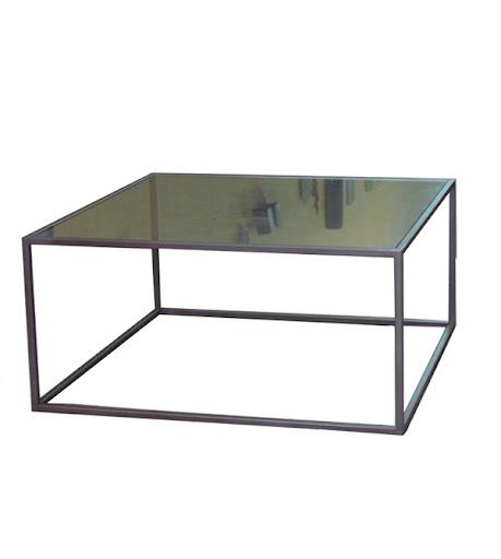 Mesa de centro vintage mesas y sillas de estilo vintage - Mesas de marmol y cristal ...