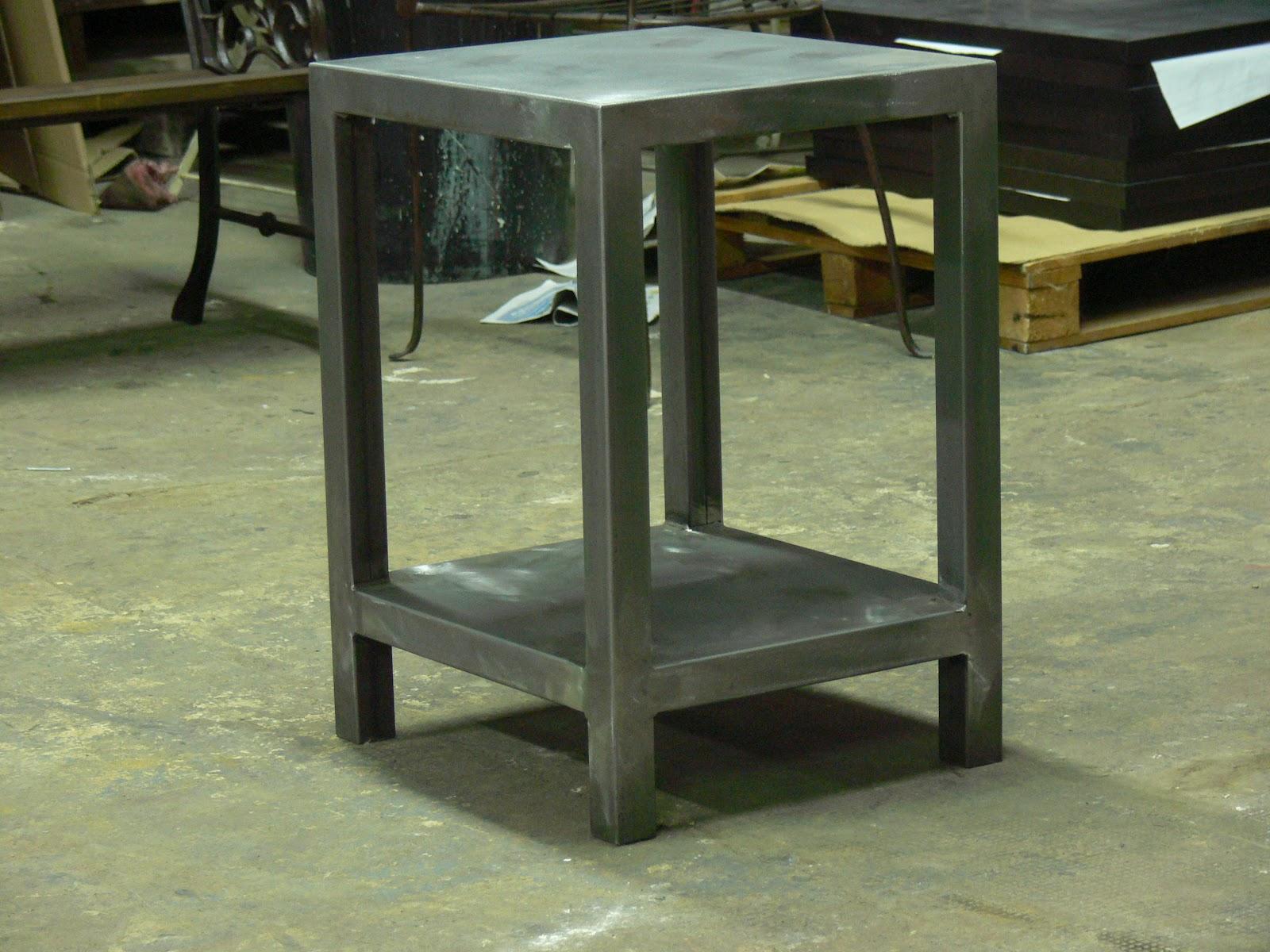 Mesas de centro en hierro mesas y sillas de estilo - Angulos de hierro ...