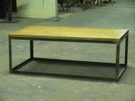 Mesa cubo madera