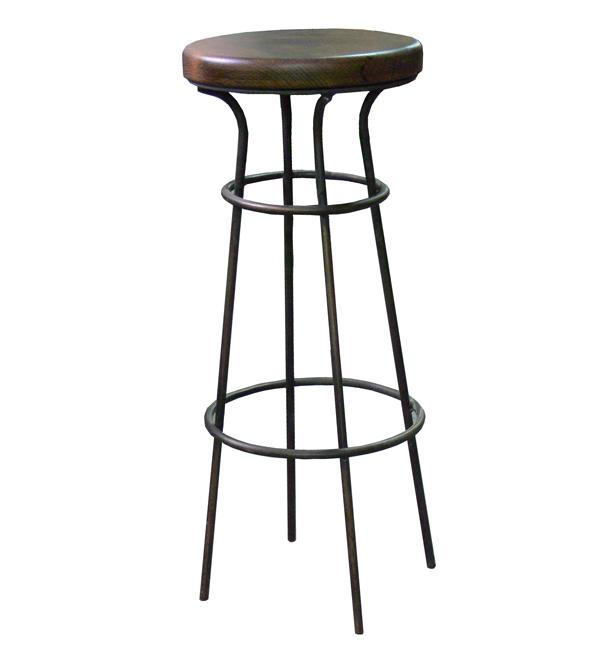 Taburete estilo industrial mesas y sillas de estilo for Taburete estilo industrial