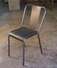 Silla rochelle 2, con asiento de hierro