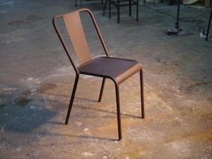 Mesas y sillas retro mobiliario vintage de estilo industrial de madera y hierro marzo 2013 - Sillas estilo vintage ...