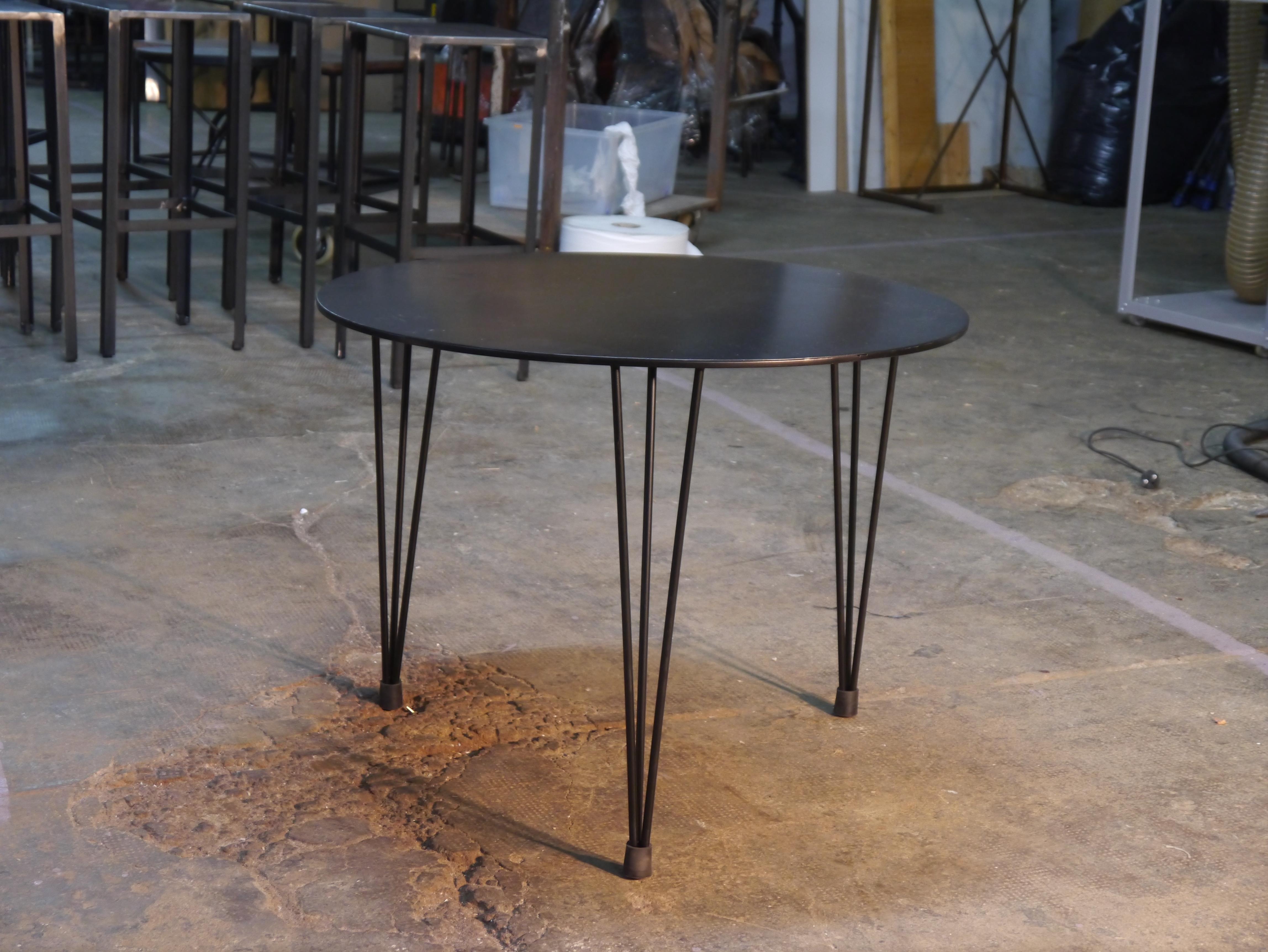 Sillas vintage barcelona mesas y sillas de estilo - Mesa de hierro ...