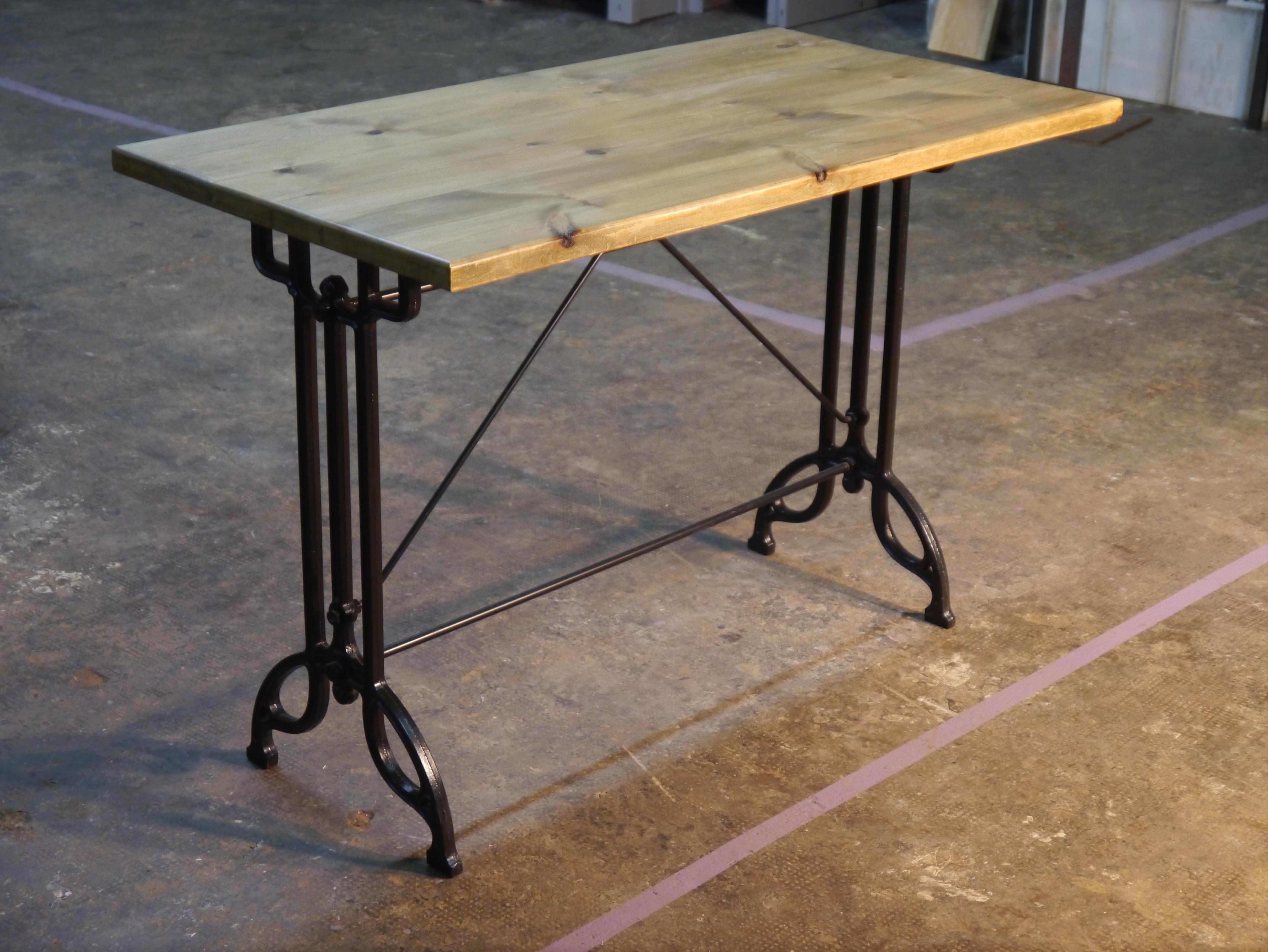 Mesas y sillas para hosteler a estilo retro y vintage - Patas plegables para tableros ...