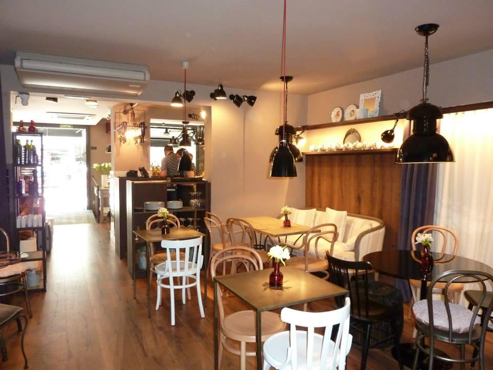 Sillas vintage cafeteria mesas y sillas de estilo for Mesas para cafeteria