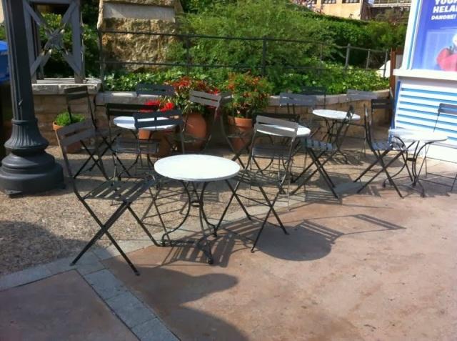 Mesas cafeteria mesas y sillas de estilo vintage retro industrial hosteleria - Sillas hosteleria barcelona ...