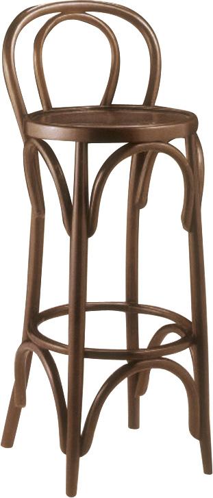 Taburete de bar en madera mesas y sillas de estilo for Taburete bar madera