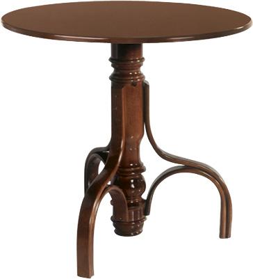 Mesa clasica madera curvada thonet mesas y sillas de for Mesas madera hosteleria